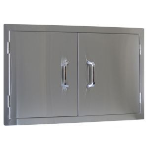 Dvojna vrata omarice za zunanjo kuhinjo