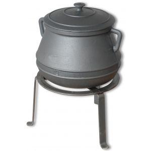 Kotliček za kuhanje 10l s stojalom